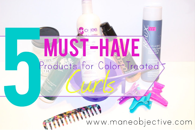 5 Must-Have Products for Color Treated Curly Hair