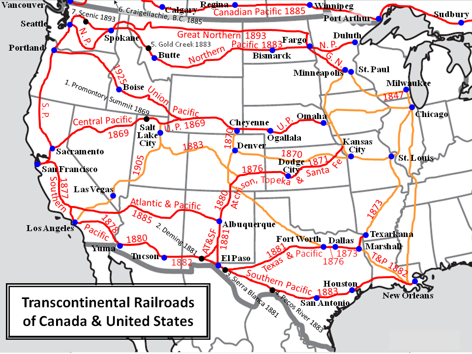 """transcontinental railroad affect western expansion in the united states essay Free essay: the transcontinental railroad """"if any  affect western expansion in the united states  the transcontinental railroads essay."""