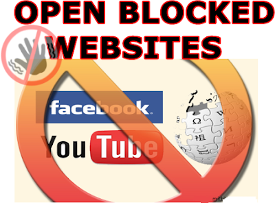 Open blocked site online programa similar a securitykiss how to open blocked sites and access unblock restricted ccuart Images