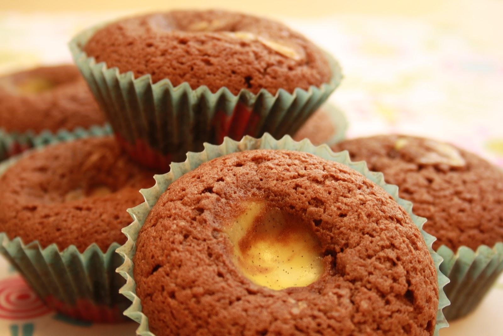 Baka med vaniljkräm