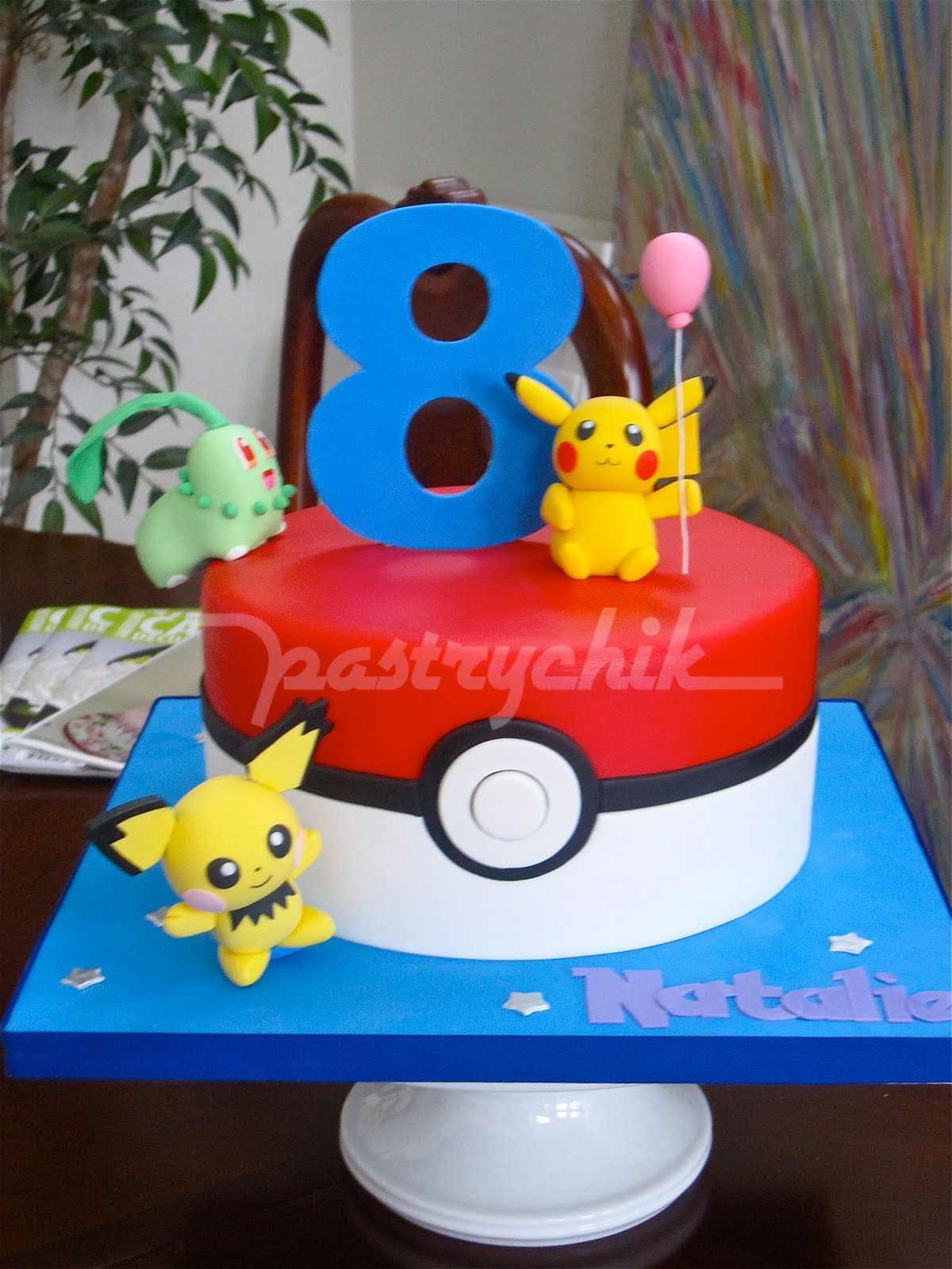 how to make a pokemon cake