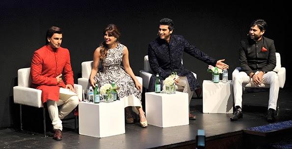 Gunday stars Arjun Kapoor, Priyanka Chopra and Ranveer Singh on premier at DIFF