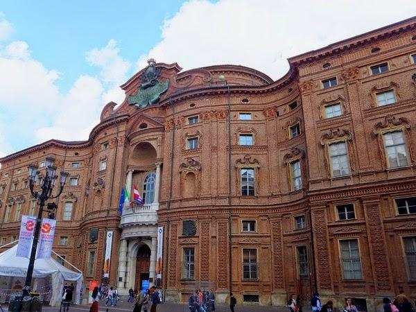 Turin Italie palazzo carignano