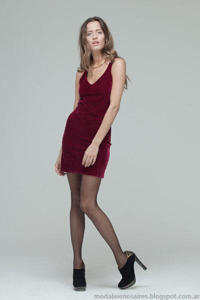 Moda otoño invierno 2013 vestidos