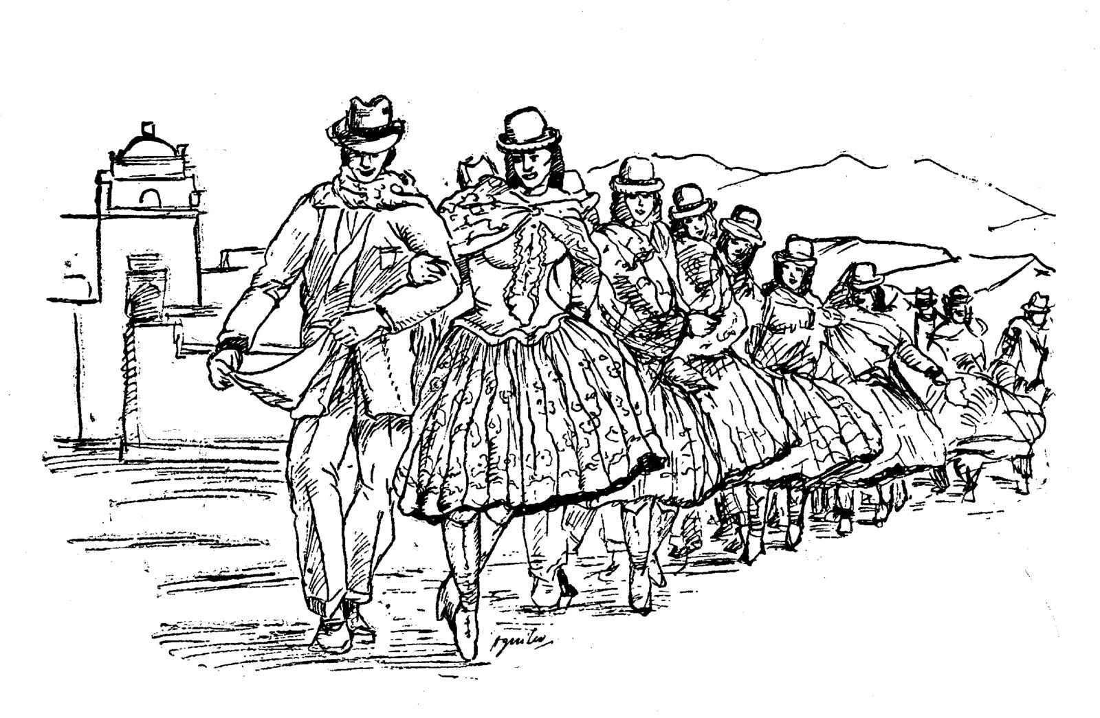 danzas de la sierra para colorear danzas de la sierra para