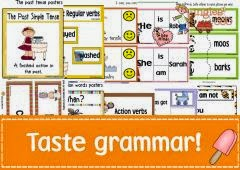 Grammar based ideas & printables