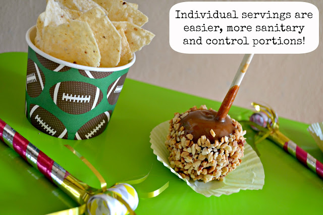 Mommy Testers Individual portions of nachos and caramel apples from Smart and Final #ChooseSmart