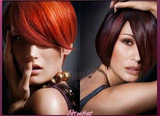 Warna+rambut+untuk+kulit+gelap