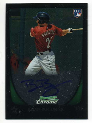 2011 Bowman Chrome Brian Bogusevic Auto