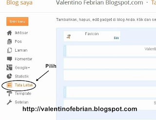 Cara Membuat Widget Label di blog