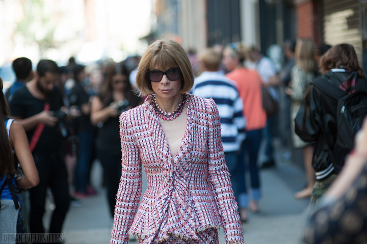 Anna Wintour Jason Wu outside