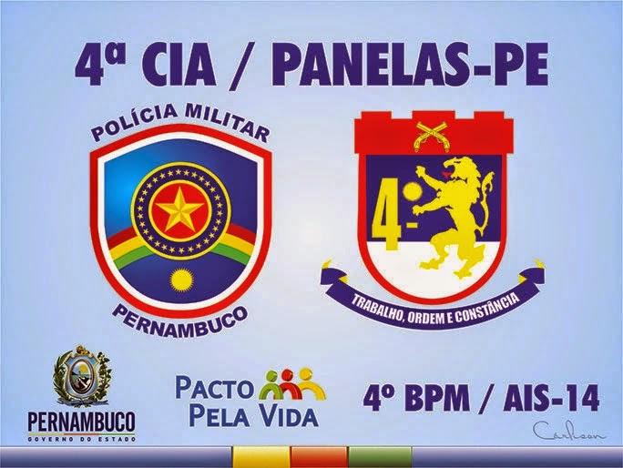 4° BPM DA POLICIA MILITAR DE PANELAS