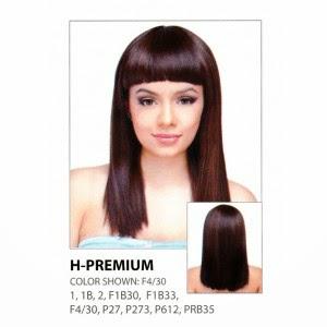 21Tress Malaysian 100% Human Hair Blended Wig H - Premium