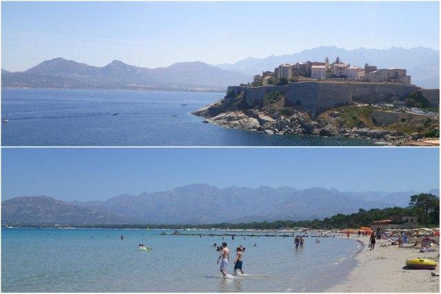 Ciudadela y Playa de Calvi, Corcega