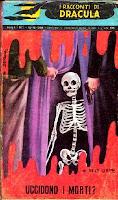 Uccidono i morti?, 1959, copertina