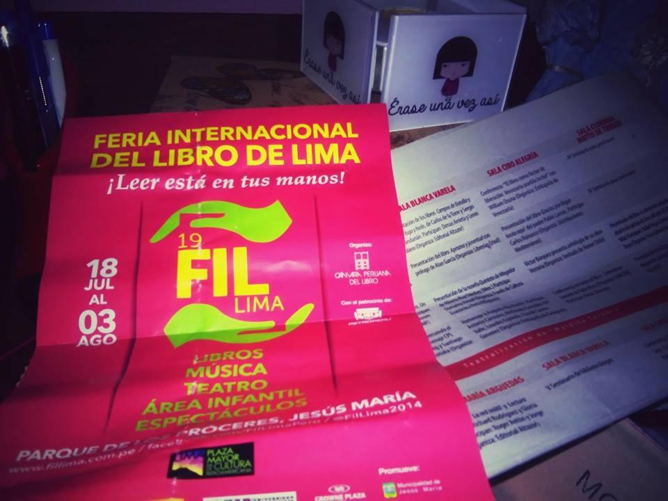 Feria Internacional del Libro de Lima 2014, razones para ir a la feria del libro