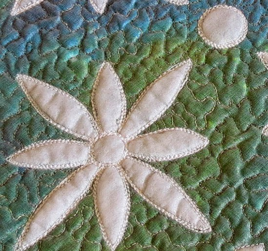 How to quilt pebbles