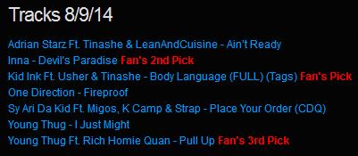 Download [Mp3]-[NEW TRACK RELEASE] เพลงสากลเพราะๆ ออกใหม่มาแรงประจำวันที่ 8 September 2014 [Solidfiles] 4shared By Pleng-mun.com