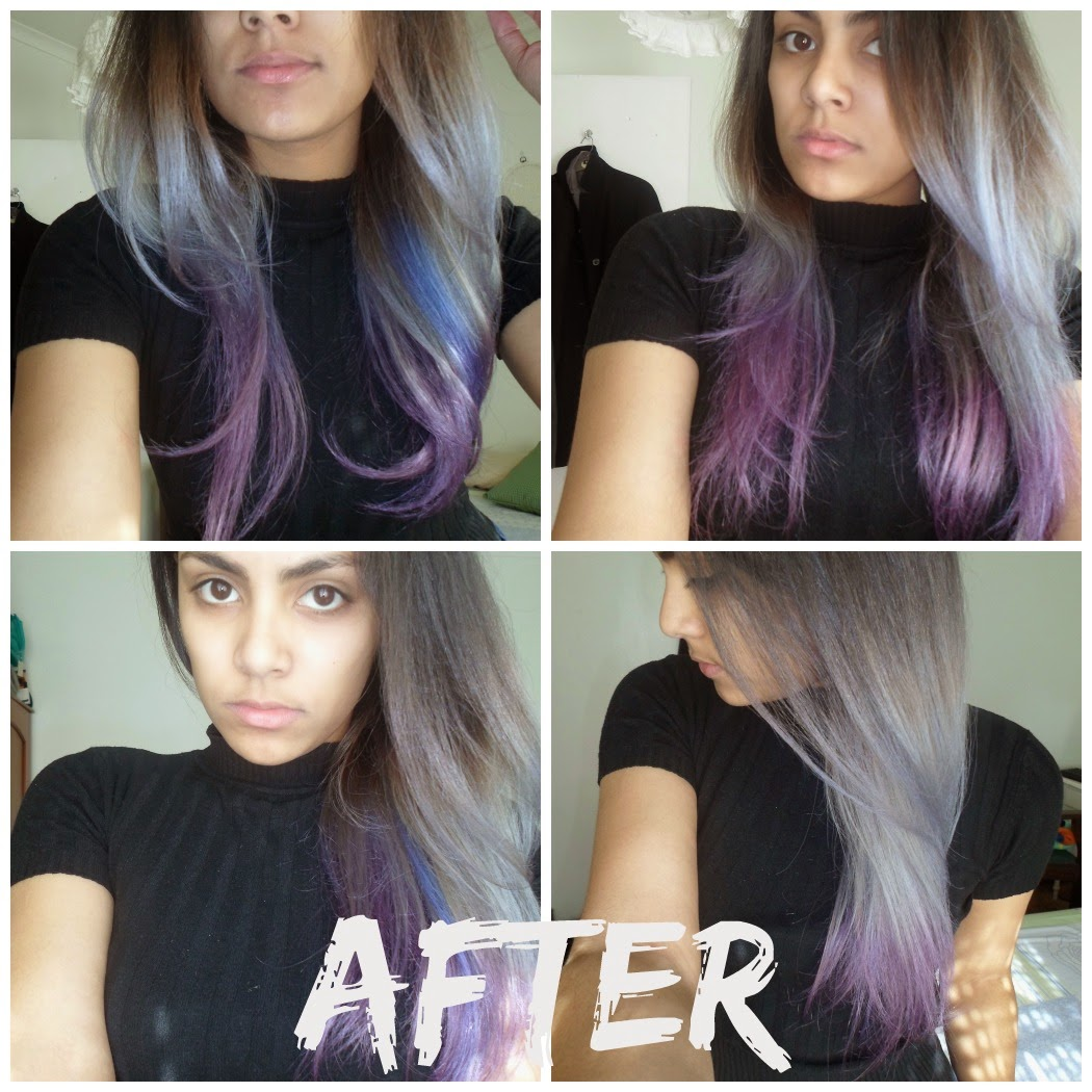 Those Sartorial Moments Purple Hair Wmanic Panic Electric Amethyst