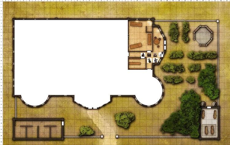 Combat Map - Turn 17