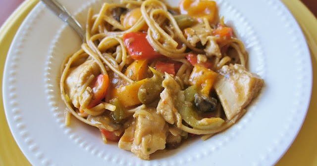 Envy My Cooking: Mushroom and Bell Pepper Chicken