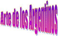 ARTE DEL LOS ARGENTINOS