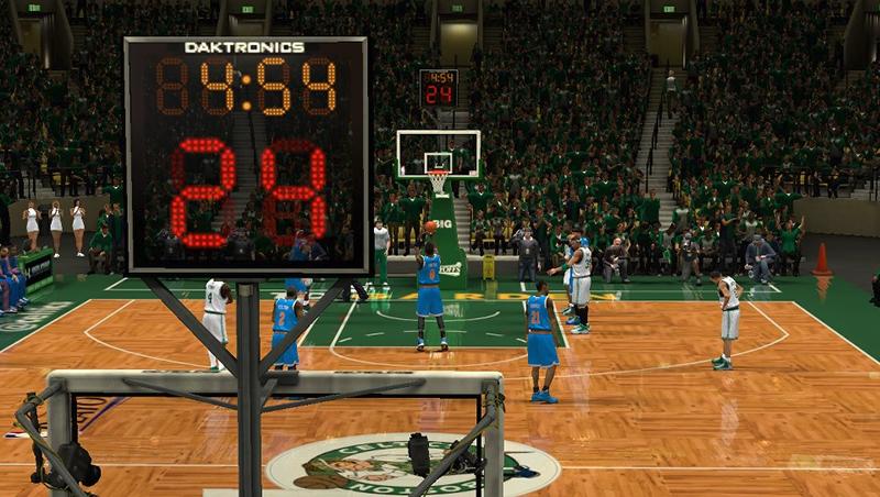 NBA 2K13 Boston Celtics Court Playoffs Update - NBA2K.ORG