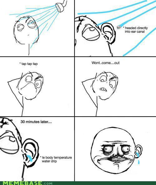 Funny Story of every morning when i bath ~ funny image