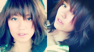 Foto-Foto Artis Agnes Monica (Rambut Baru)
