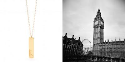 City Love - London - Gorjana necklace