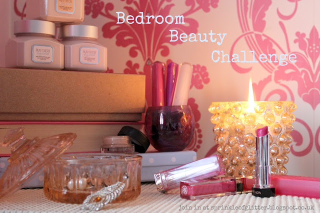 Bedroom Beauty Challenge | Sprinkle of Glitter