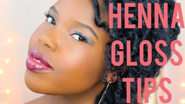 tips slay henna gloss