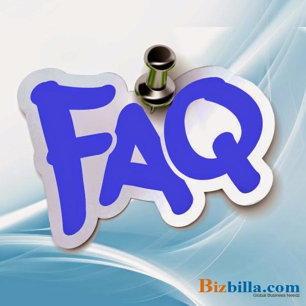 Bizbilla- FAQ
