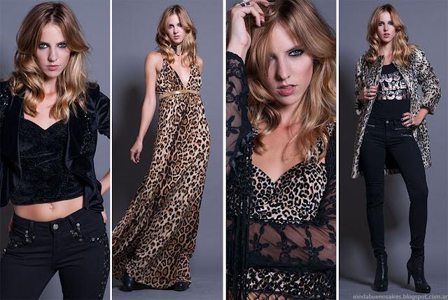 Moda invierno 2015 mujer. Rosh colección otoño invierno 2015.