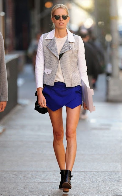 Karolina Kurkova Street Style