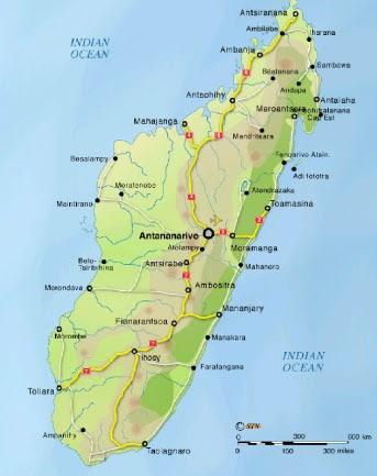 Madagaskar Haritas�
