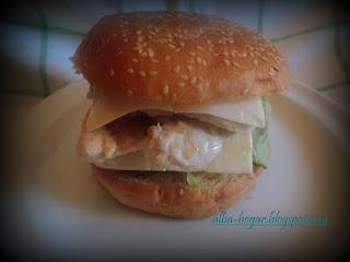 burguer pollo alba hogar