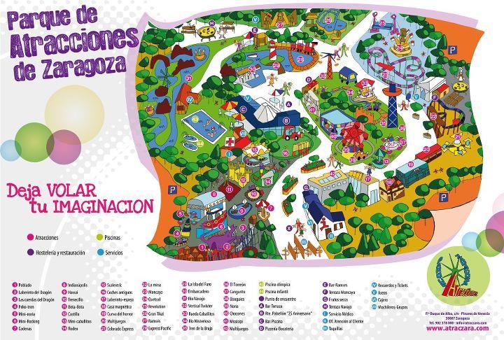 2 novedades zamperla en el parque de atracciones de zaragoza y 2 atracciones - Parque atracciones zaragoza ...