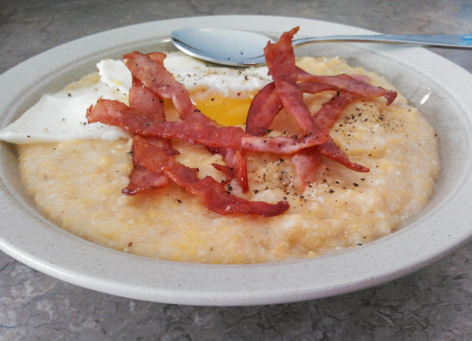 Pocono Pabulum for Mind & Body: Creamy Breakfast Polenta
