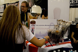 Launching The London Brush Company at IMATS 2010