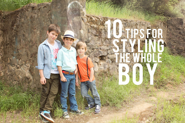 ten tips for styling the whole boy
