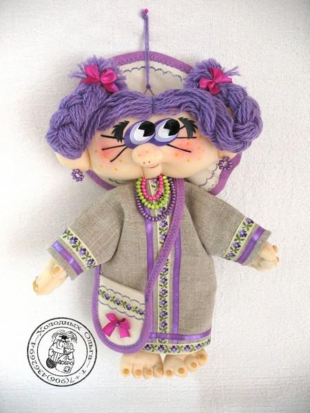 Кукла Фиалка