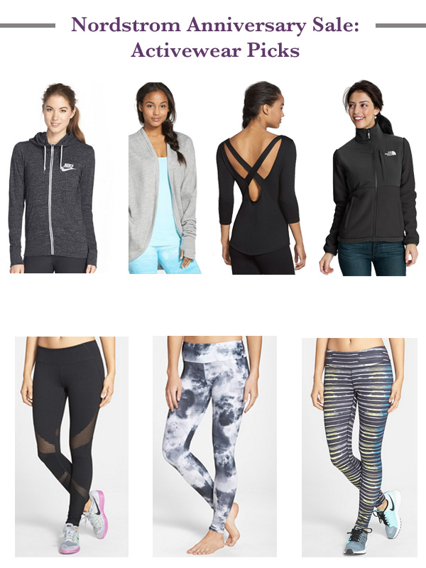 Nordstrom, Nordstrom Anniversary Sale 2015, shop, online shopping, activewear, workout wear, fitness, Nike, shop the post,