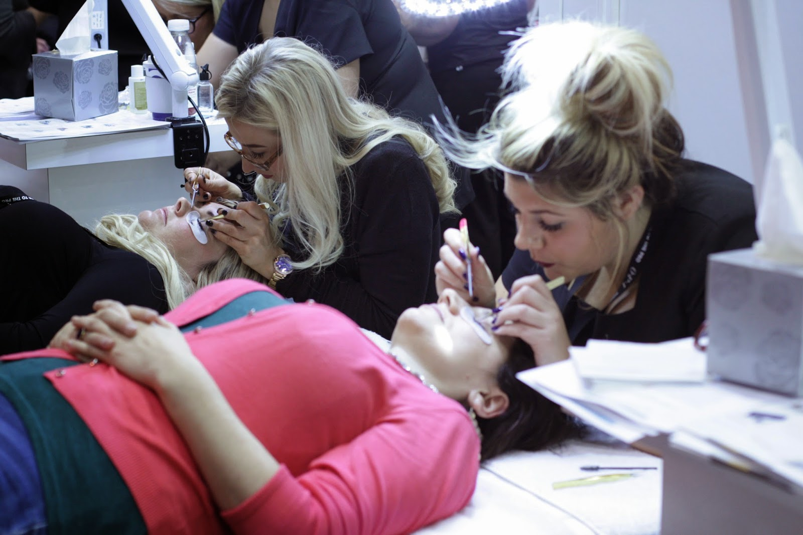 Professional Beauty London Show - eyelash extensions