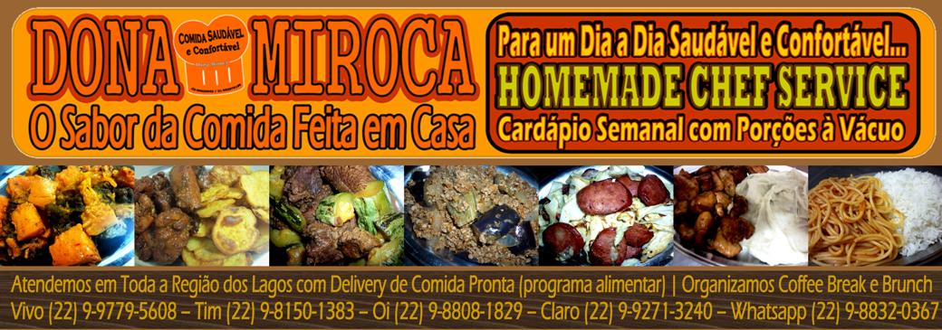 ::HOMEMADE CHEF 'DONA MIROCA | Comida Pronta para Microondas