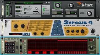 setup thor scream 4 matrix pattern sequencer