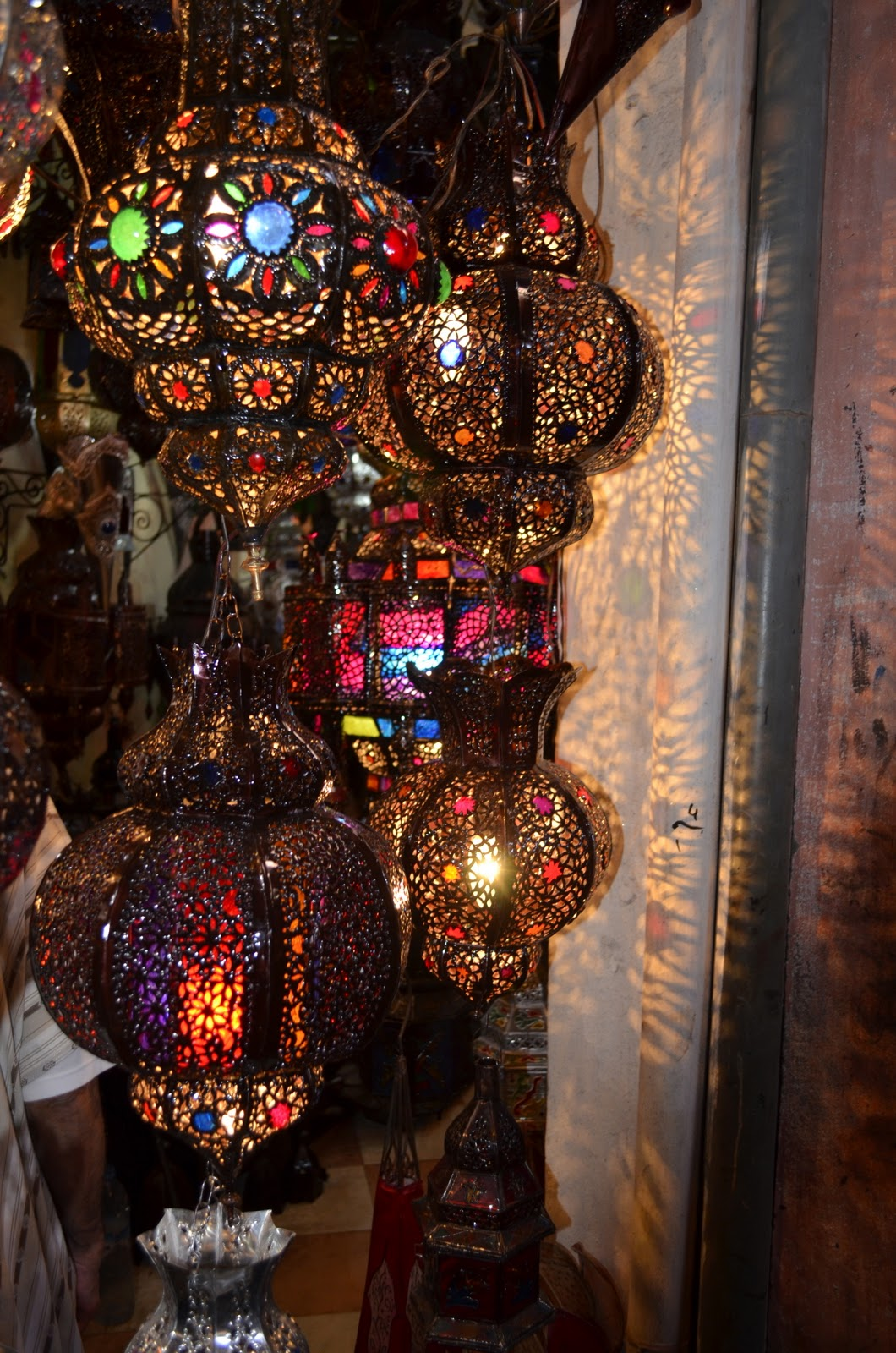 Iced Vo Vo S Lanterns Moroccan Style
