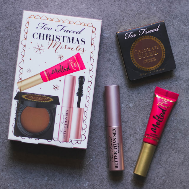 Holiday Gift Guide! Ulta favorites: Lorac, Too Faced, It Cosmetics, Pur cosmetics, Mario Badescu skin care.