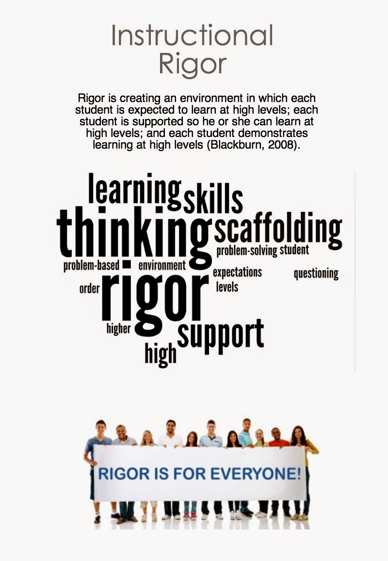 what is instructional rigor