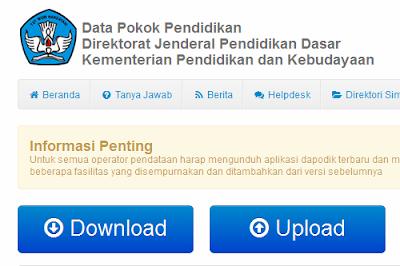Telah Dirilis Aplikasi Dapodik Terbaru Tahun 2013